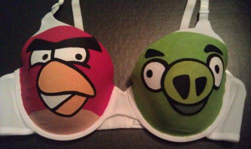 Sujetador Angry Birds
