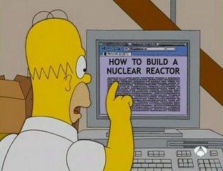 Homer Simpson nuclear